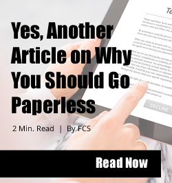 Side Bar Ad - Go Paperless